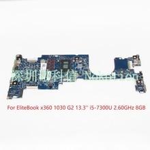 NOKOTION 6050A2848001 MB A01 920053 601 920053 001 For HP EliteBook X360 1030 G2 Laptop motherboard