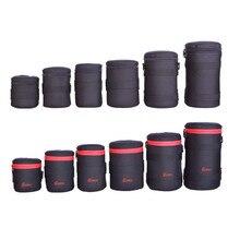 Нейлон функциональные объектив сумки DSLR Объективы для фотокамер Сумка Высокое качество чехол для объектива EIRMAI Водонепроницаемый зеркальные линзы сумки