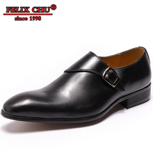 LUXURY MEN LOAFERS SHOES GENUINE LEATHER ITALIAN DESIGN HANDMADE BUCKLE STRAP SLIP ON FORMAL WEDDING