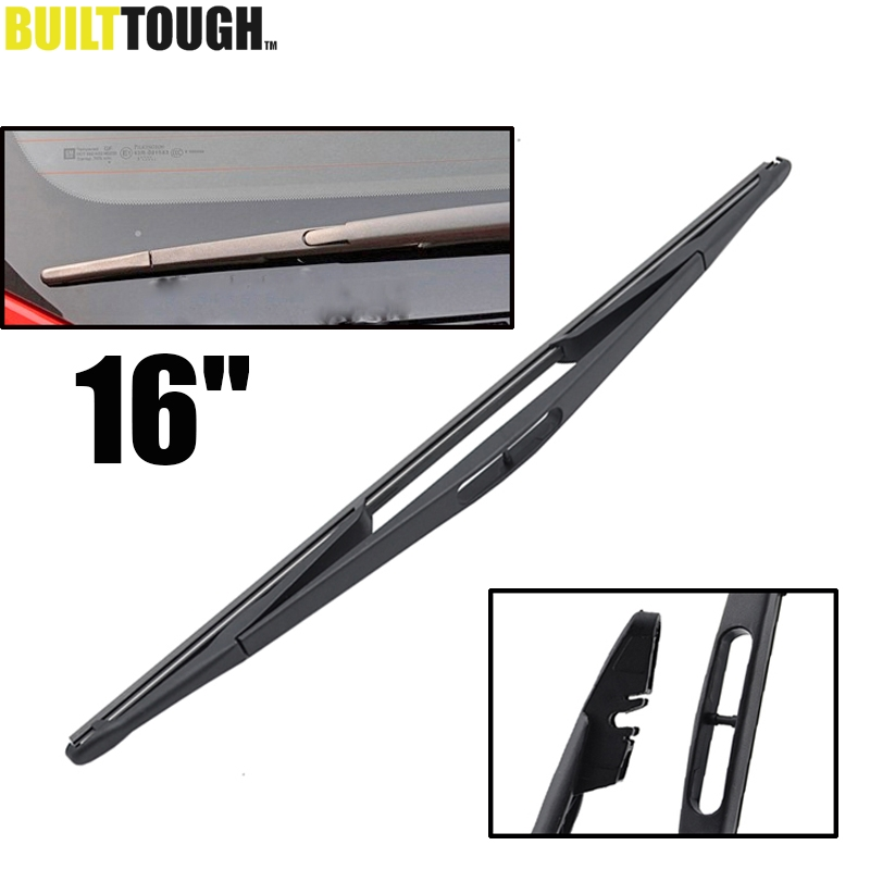"MISIMA 16"" Rear Window Windscreen Wiper Blade For Vauxhall Opel Astra G Mk4 1998-2005 / CORSA C MK2 2000-2006 / Combo 2002(China)"