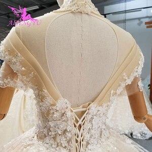 Image 4 - AIJINGYU チュールプリンセスドレス結婚除草手頃な価格ブライダルふくらんチューブウェア特別な日のドレス