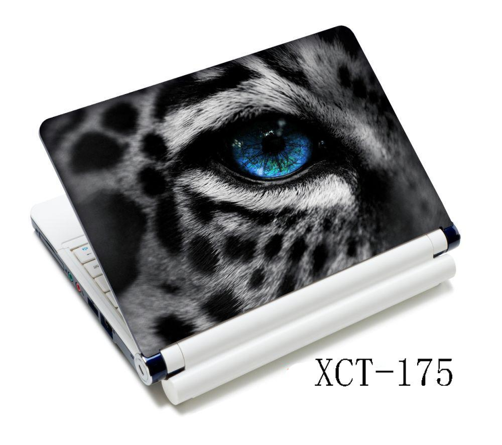 Snow Leopard Eye High Quality Laptop Skin Sticker Cover Art Decal For 13.3 14 15 Removable