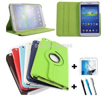 For Samsung GALAXY Tab 3 8 0 T311 T310 360 Degrees Rotating Litchi Pattern Leather Case