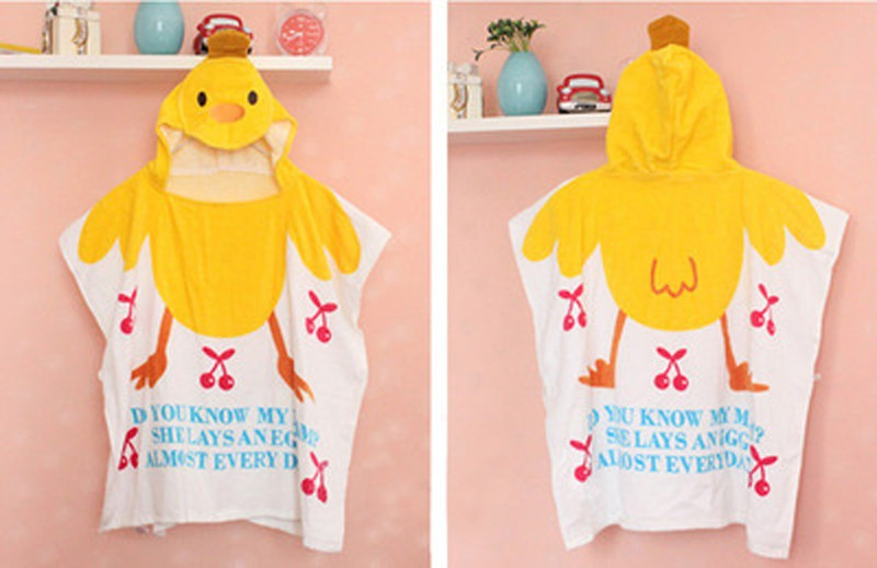 New-Baby-Boys-Girls-Pajamas-Autumn-Summer-Children-Cotton-Animal-funny-bathrobe-Tower-blanket-Kid-SleepwearT0018 (2)