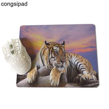 Mouse pads personalizados tigre 3d mama mouse pad foto personalizada gel mousepad do computador Anti-Slip Laptop PC Ratos Pad esteira Mousepads(China)