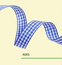 3/4″ Inch 18mm tartan ribbon