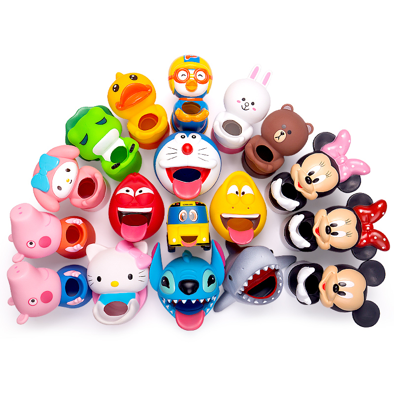 Cute Cartoon Animals Bathroom Kitchens Sink Tap Toddler Extender Wash For Kids Children Water Tap Faucet Extension Hand Washing