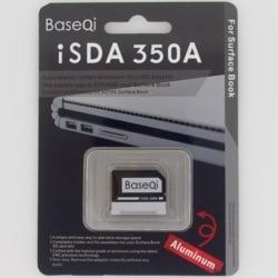 BaseQi di Alluminio Micro SD/Adattatore per carta di TF lettore di schede SD di espansione di Memoria Per Microsoft Superficie Libro 'e di Superficie libro 2 13''