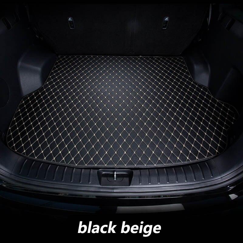 kalaisike Custom car trunk mats for Geely all model Emgrand EC7 GS GL GT EC8 GC9