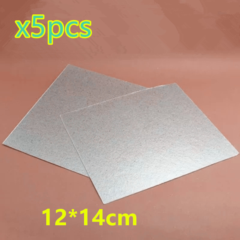 5Pcs Accessories For Microwave Ovens Mica Sheet 12*14cm Microwave Mica chantecaille shine eye shade refill mica цвет mica variant hex name 908a94