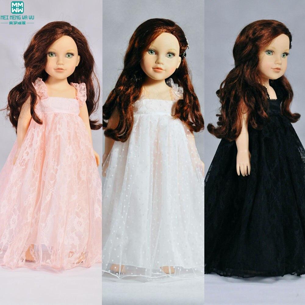 Одяг для ляльок підходить дитяча лялька zapf і дівчина dolll Біле плаття Плед плаття