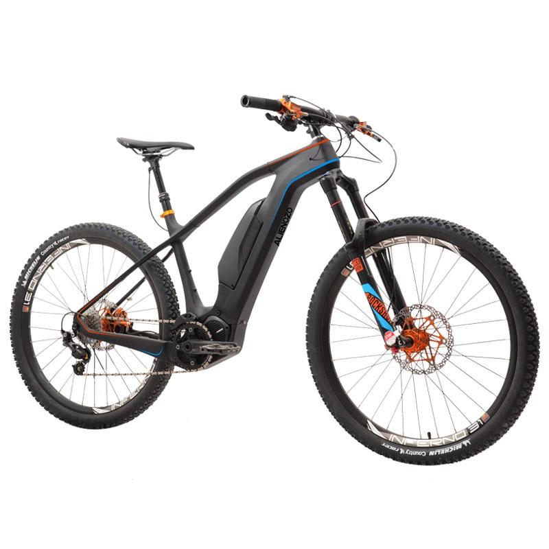 Coutom 27.5inch Carbon Fiber Electric Mountain Bicycle  AM All-terrain Mountain Bike Electric Carbon Fiber Electric Pro Ebike