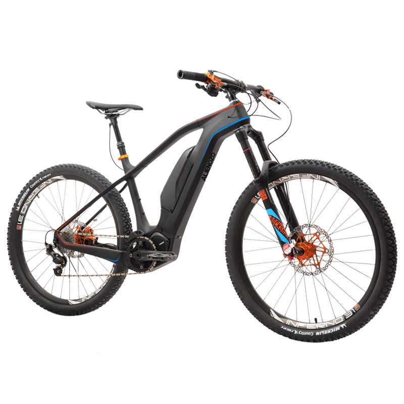 Coutom 27 5inch Carbon fiber font b electric b font mountain bicycle AM all terrain mountain