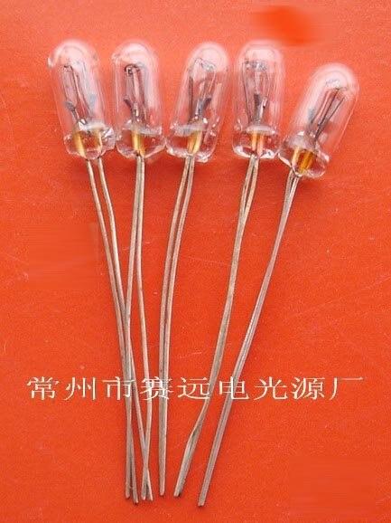 New!guaranteed 100%! 3.15mm 14v 0.05a Small Light Miniature Lamp Bulb Light A166