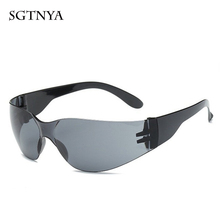 New windproof sunglasses safety glasses outdoor men and women models UV400