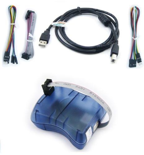 AVRISP mkII Upgradable Programmer Debugger AVRISP mk2 MKII USB ISP for Atmel AVR IC for Arduino