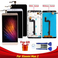 LCD Display For Xiaomi Mi Max2 LCD Touch Screen Digitizer for Xiaomi MI Max2 Display Screen Replacement with frame