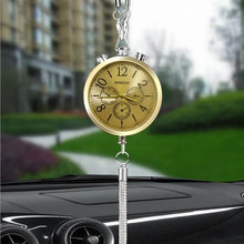 Car-styling Car Clock Interior Accessories Perfume Refill St