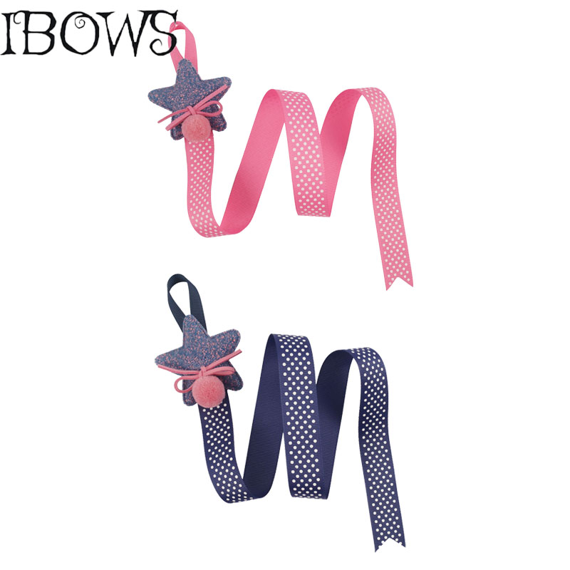 1Pc Cute Girls' Hairclips Holder Boutique Kids Ribbon Hairbow Hairpins Holder With Long Tail Storage Felt Hair Accessories boutique hairbow girls grosgrain ribbon cute rabbit ears hair clips bowknot crystal hairpins fashion hair accessories for female