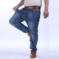 Men S Big And Tall Jeans Pants Denim Mens Loose Fit Jeans Stretch Jeans Men Washed