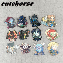 Cute cartoon Hearthstone series fridge magnets  High grade acrylic World of Warcraft