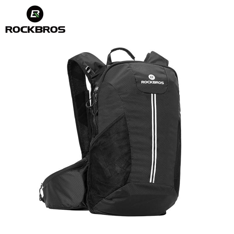 ROCKBROS Cycling Bike Hiking Backpack Outdoor Sport Bag Camping Hunting Climbing Travel Bag Rainproof Big capacity Package Trunk