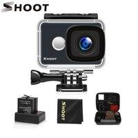 Снимать T31 Водонепроницаемый Wi-Fi 4 K действие Камера 1080 P/60FPS ультра hd-камера с 170 градусов Широкий формат линзой для Go Pro Hero 7 5 6 Yi h9