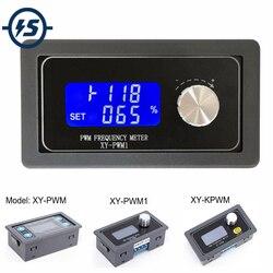 Генератор сигналов ШИМ импульсная Частота Рабочий цикл регулируемый модуль ЖК-дисплей 1-канальный 1 Гц-150 кГц 3,3 в-30 в