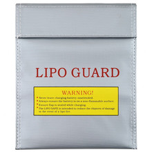 1pcs Fireproof & Waterproof High Quality RC LiPo Battery Safety Bag Safe Guard Charge Sack 18x23cm 30x23cm Silver rc lipo battery safety protect bag pouch safe guard charge sack 185 x 75 x 60 mm 235 x 180 x 65 mm