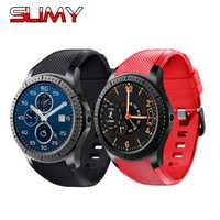 Slimy Smartwatch GW11S Android 5.1 OS with Ram 512mb+ 8GB Support 3G Wifi GPS Bluetooth Music for Android IOS Smartphone Camera