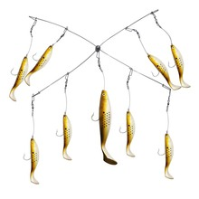 цены Large combined sea-fishing bait Trolling Marlin Lures free shipping