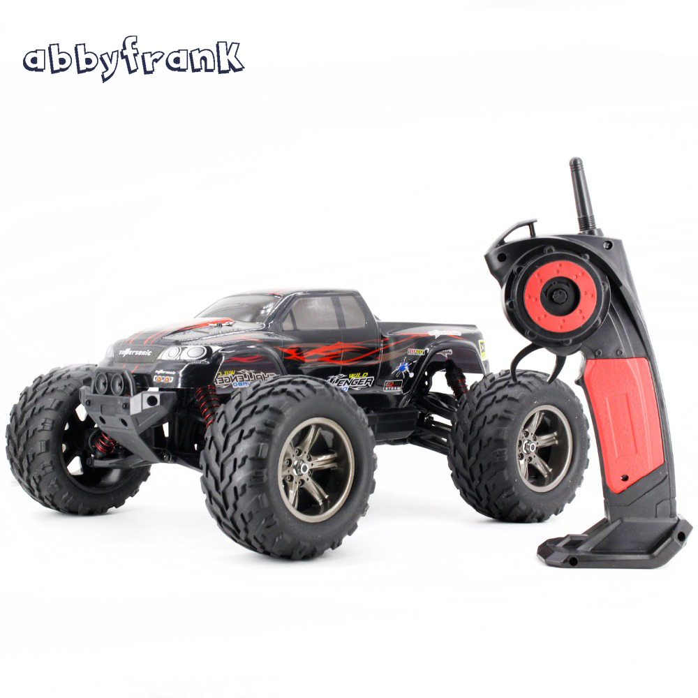 Abbyfrank Dirt Bike Kf S911 1:12 2wd Toy Monster Truck Wl A969 A979 Big Wheel Boy Gift Idea Daljinski upravljalnik Car Radio Controlled