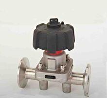 SS316L нержавеющей стали санитарно пневматический руководство мембранный клапан с уплотнением EPDM SDGMF-10E