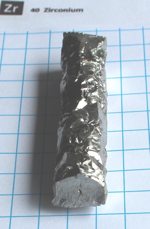 100 gram  Zirconium Metal Bar  99,9% - Element 40 sample