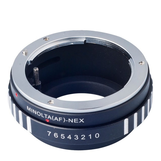 Mount lens Adapter Ring For Sony Alpha Minolta AF A-type Lens to Sony Alpha NEX E-mount Camera Adapter DC111-SZ