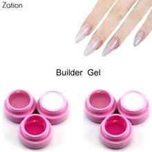 Zation Hard Jelly Gel Lacquer Camouflage Builder Gel Clear Extending Gel Transparent Nail Art Gel Polish Extension Nail Varnish