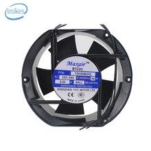 15050B2HL AC Axial Ventilador De Refrigeração AC 220 V-240 V 0.22/0.21A 34 W 2800 RPM 17250 17 cm 172*150*50mm 2 Fios