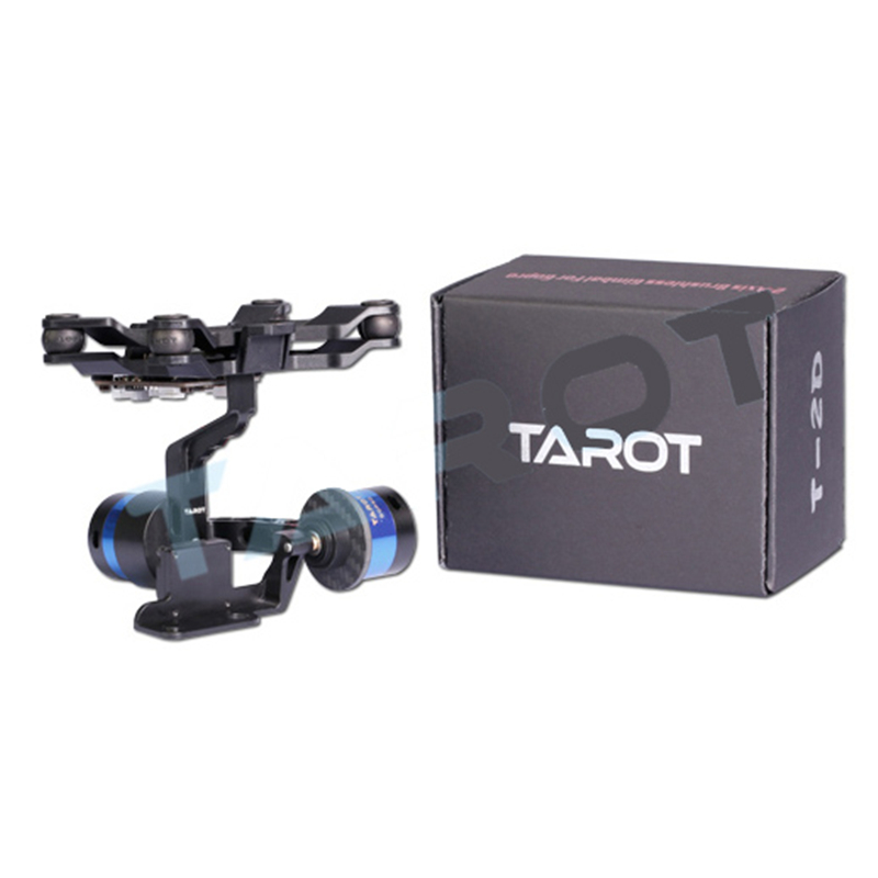 Tarot TL68A15 support de caméra à cardan sans balai 2 axes avec Gyroscope ZYX22 pour caméra de sport MIUI Xiaomi Yi