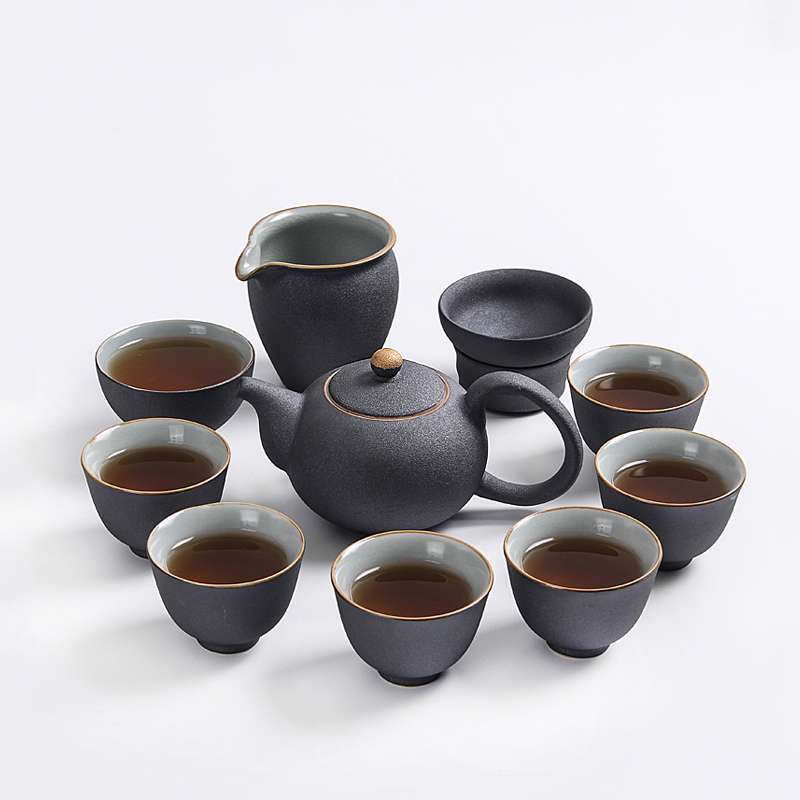 TANGPIN drinkware ceramic kyusu teapots teacups a tea sets chinese kung fu tea sets in Teaware Sets from Home Garden