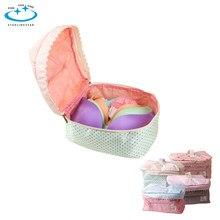 6e4b5ac4a 1 pcs Casa Da Menina Das Mulheres Portátil Viagens Bra Underwear Lingerie  Caso Organizador Saco de