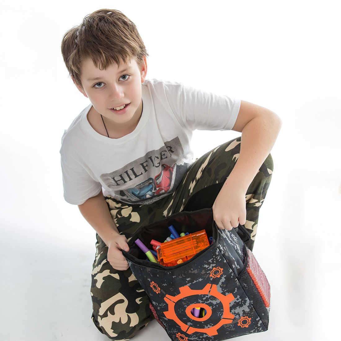 Ткань Оксфорд целевой шаблон практика стрельбы мешок мягкий патронташ для Nerf-камуфляж