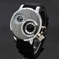 New Arrival 2014 Brand Quartz Men Sports Watch Military Casual Watches V6 Wristwatch Dropship Silicone