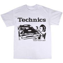 "Classic Technics ""Teach them well"" men's t-shirt"