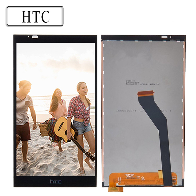 100% первоначально для HTC Desire 820 ЖК-дисплей Сенсорный экран с Рамки для HTC Desire 820 Дисплей планшета Ассамблеи Запчасти для авто