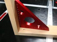 Medidor de altura de alumínio métrico/Polegada  ferramentas para trabalhar madeira