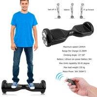 2 колеса, балансируя Электрический скутер Hover доска Smart Balance ХОВЕРБОРДА с Bluetooth Динамик замок сумка для переноски