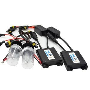 Image 4 - 2pcs 2.5 inch Hid Bi xenon Projector Lens Shroud 35W 5000K Xenon Ballast Bulb Car Assembly Kit Fit for h1 h4 h7 Car Model Mofify