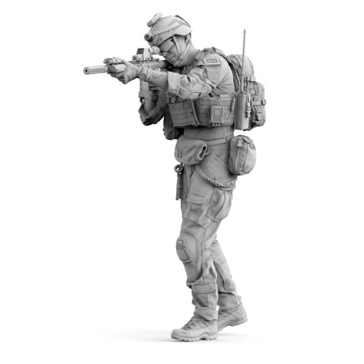 1/16 Resin Figures Model Kits Modern US Army Special Soldiers  Unpainted And Unassembled 349G