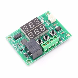 Image 4 - XH W1219 Dc 12V Dual Led Digitale Display Thermostaat Temperatuurregelaar Regulator Schakelaar Controle Relais Ntc Sensor Module