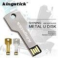 Plata y Oro Kingstick Memory Stick Pen Drive 32 GB Usb Flash Drive 64 gb Dominante Del Flash de 4 gb 8 gb 16 gb Pendrive Flash Stick U disco
